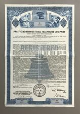 Scarce Pacific Northwest Bell Telephone Company ~ Vignette