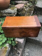 Vintage Wooden Storage Document Box