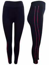 Cotton Blend Running Leggings for Women with Breathable