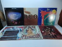 REO Speedwagon LP Lot of 6: Two, Nine Lives, Life As We Know It and more Epic