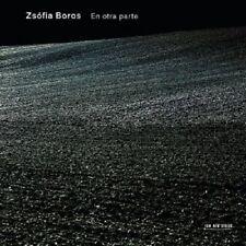 ZSOFIA BOROS - EN OTRA PARTE  CD  11 TRACKS AMIGO/BROUWER/CALLEJA/+  NEU
