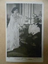 Vintage Theatre Postcard- Ethel Barrymore & J. Wheelock in CYNTHIA