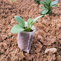 200pcs Pflanzbeutel Pflanzsack Blumentopf Anzuchttöpfe Pflanze Zuchten Bag