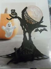 "PartyLite ""Ghostly Tree"" Tealight Candle Holder, Nib * Last One *"