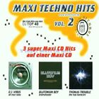 Maxi Techno Hits 2 (Blutonium) D.J. Virus, Blutonium Boy, Thomas Tro.. [Maxi-CD]