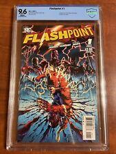 Flashpoint #1 9.6 CBCS (like CGC) NM 1st Thomas Wayne as Batman