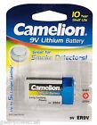 20 X Camelion Professional Lithium 9 V Block Rauchmelder Batterie Lr61 Pp3