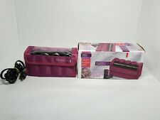 "Remington Compact Ceramic Women's Travel Curlers Diamond Shine 1"" and 1 1/4"""