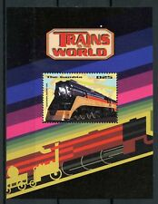 Gambia 1998 MNH Trains of World Southern Pacific USA 1v S/S II Railways Stamps