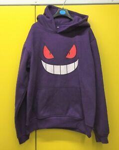 Pokemon Hoodie - Gengar - Size M