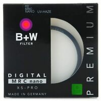 B+W UV Filter XS PRO MRC Nano UV HAZE Protective BW Ultra Thin Camera Lens MM