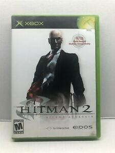 Hitman 2: Silent Assassin (Xbox, 2002) Complete Tested Working - Free Ship