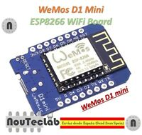 D1 mini V2 - Mini NodeMcu 4M bytes Lua WIFI Development Board ESP8266 by WeMos