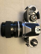 Nikon Fm 35mm Slr Film Camera with 50 mm lens and all Accessories!