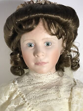 World Gallery Alice Roosevelt Porcelain Doll #53 In Series Of 2000, New In Box