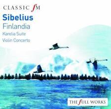 Sibelius: Finlandia - Viktoria Mullova Boston Symph Orch Gothenburg Sym (NEW CD)