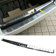 Stainless Steel Inner Rear Bumper Protector Guard Cover Trim For Toyota Sienna