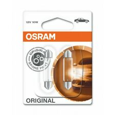 2x OSRAM Festoon Bulb 264 12V 10W Torpedo Type