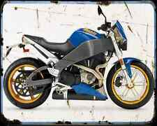 Buell Xb12S 05 A4 Metal Sign Motorbike Vintage Aged
