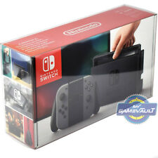 1 x Nintendo Switch Box Protector for Console STRONG 0.5mm Plastic Display Case