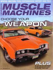 HEMMINGS MUSCLE MACHINES August 2018 '70 Merc Cyclone Spoiler CJ '68 Z28 '70 GTO