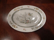 "ROYAL DOULTON ""TONKIN"" OVAL SERVING PLATTER 13 1/4"" MADE IN ENGLAND T.C.1107"