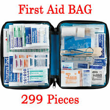 299pcs Outdoor Hiking Camping Survival Travel Emergency First Aid Kit Rescue Bag