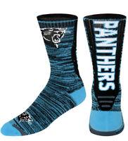 Carolina Panthers NFL For Bare Feet Jump Key Men's Crew Socks SZ L