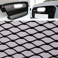 "Honeycomb Black Car Grill Meshes Body Grilles for Front Bumper 40""x13"" Aluminium"