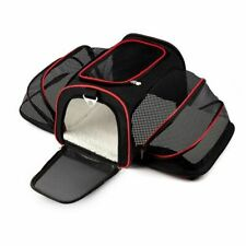 Expandable Pet Carrier For Small Dogs Cats Soft Sided Crate Airline Approved Ken