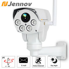 1080P HD PTZ 4xZoom Wireless 50M IR Outdoor Onvif Surveillance Network IP Camera