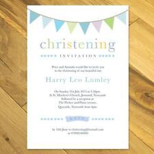 vintage christening invitations ebay