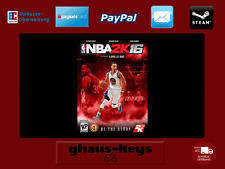 NBA 2K16 Steam Key Pc Game Download Code Neu