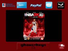 NBA 2K16 Steam Key Pc Game Download Code Neu Blitzversand