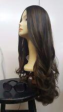 Malky Wigs Kosher European Multidirectional Dark Brown  Hair  8-4