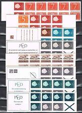 Postzegelboekjes 1H, 2H, 3a, 5, 6a, 6eF, 7a, 7bF mooie set (1) Cat waarde € 52