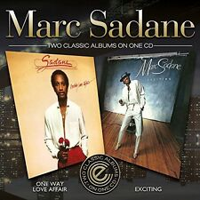 One Way Love Affair/Exciting - Marc Sadane (2014, CD NEUF)