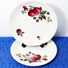 "LOT of 2 Ridgway England Bromsgrove Dinner Plates 10"" Exc+ Cond!"