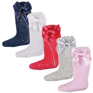 Baby girl BOW socks pelerine Spanish style