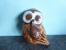 Babbacome Pottery - Devon - Owl - Wall Hanging - String Dispenser