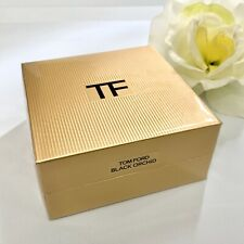 Tom Ford BLACK ORCHID Solid Pressed Perfume Compact .21 oz Full Size, Sealed NEW