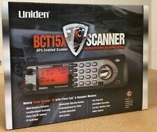 Uniden BCT15X BearTracker Mobile Tracking Scanner Black Color Brand New