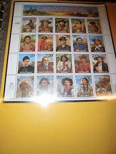 USA I 1994 postfrisch MNH Bill Ben Berry Pickett Zd-Bogen mit Fehler 2506-2525