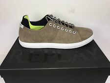 Cool Men's Sneakers Replay Dunedin Light Brown Size 42 Remainder Sale New