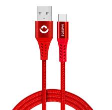 USB C Kabel Daten Lade Typ C Ladekabel Datenkabel Nylon für Samsung Huawei 100cm