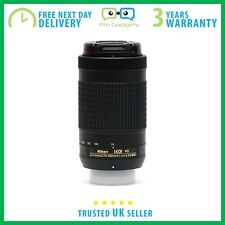 *Used* Nikon Nikkor AF-P DX 70-300mm F/4.5-6.3 G ED VR White Box  - 6 Mnths Wrty