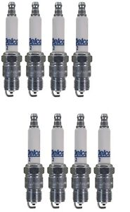 Set Of 8 Spark Plugs AcDelco For Avanti Buick Chevy Caddy GMC Pontiac Checker V8
