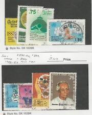 Sri Lanka, Postage Stamp, #825-828, 889-90, 893, 896 Used, 1987-89