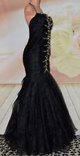 NWT Lafee Mermaid/Trumpet Beading Floor length Pageant Dresses Party/Prom gown 8