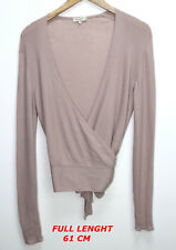 ETRO MILANO WOMAN LADY TOP SHIRT BLOUSE MARKED SIZE 46 ROSE COLOR LENGTH 61 CM